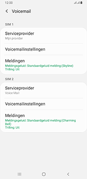 Samsung galaxy-a6-plus-sm-a605fn-ds-android-pie - Voicemail - Handmatig instellen - Stap 7