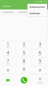 Samsung Samsung G928 Galaxy S6 Edge + (Android M) - Voicemail - Handmatig instellen - Stap 5