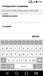 LG K4 (2017) - E-mail - Configurar Yahoo! - Paso 8