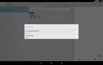 Sony Xperia Tablet Z2 (SGP521) - MMS - envoi d'images - Étape 7