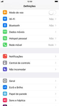 Apple iPhone 6s Plus - iOS 11 - Repor definições - Como repor definições de fábrica do telemóvel -  4