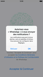 Apple iPhone 6 iOS 9 - WhatsApp - Activer WhatsApp - Étape 5