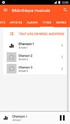 Motorola Moto C Plus - Photos, vidéos, musique - Ecouter de la musique - Étape 8