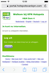 Apple iPhone 4 met iOS 7 - WiFi - KPN Hotspots configureren - Stap 21