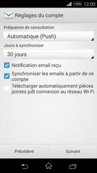 Sony D2203 Xperia E3 - E-mail - Configuration manuelle - Étape 16