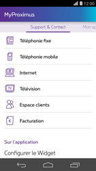 Huawei Ascend P7 - Applications - MyProximus - Étape 23