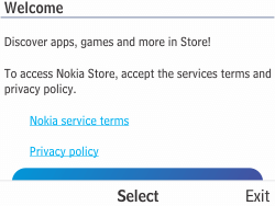 Nokia Asha 210 - Applications - Downloading applications - Step 4