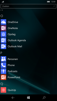 Microsoft Lumia 950 XL - E-mail - e-mail instellen (outlook) - Stap 3