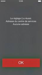 Apple iPhone 5 iOS 7 - SMS - configuration manuelle - Étape 7