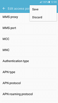 Samsung Galaxy J7 (2016) (J710) - Internet - Manual configuration - Step 15