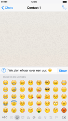 Apple iPhone 6 iOS 9 - WhatsApp - Verstuur een tekstbericht met WhatsApp - Stap 10