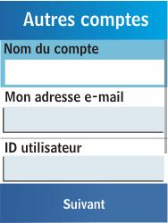 Samsung C3300K - E-mail - Configuration manuelle - Étape 12