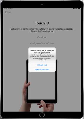 Apple ipad-9-7-inch-6th-generation-model-a1954-ios-12 - Instellingen aanpassen - Hoe gebruik ik de Automatisch inloggen-optie - Stap 12
