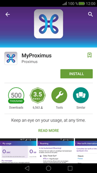 Huawei Mate S - Applications - MyProximus - Step 6