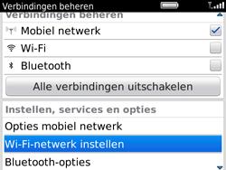 BlackBerry 9780 Bold - WiFi - Handmatig instellen - Stap 4
