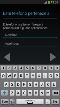 Samsung Galaxy Note 3 - Primeros pasos - Activar el equipo - Paso 12
