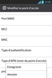 LG E610 Optimus L5 - Internet - Configuration manuelle - Étape 14