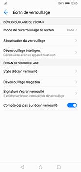 Huawei P20 lite - Sécuriser votre mobile - Activer le code de verrouillage - Étape 12