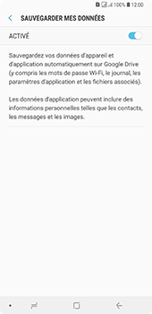 Samsung Galaxy A7 2018 - Aller plus loin - Gérer vos données depuis le portable - Étape 11