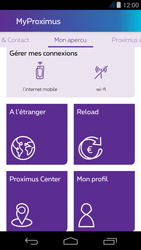 Acer Liquid Jade - Applications - MyProximus - Étape 20