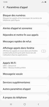 Samsung Galaxy A50 - Messagerie vocale - configuration manuelle - Étape 8