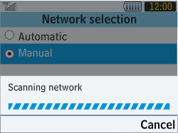 Samsung S3570 Chat 357 - Network - Usage across the border - Step 7