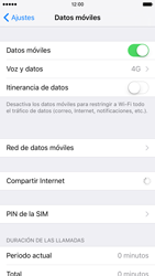 Apple iPhone 6s iOS 9 - Red - Seleccionar el tipo de red - Paso 4