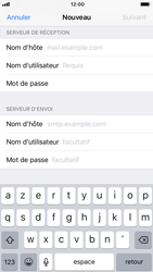 Apple iPhone 6 - iOS 12 - E-mail - Configuration manuelle - Étape 13