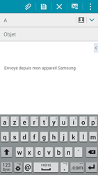 Samsung Galaxy A3 (A300FU) - E-mails - Envoyer un e-mail - Étape 5