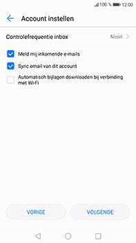 Huawei P10 Plus - E-mail - handmatig instellen (outlook) - Stap 7