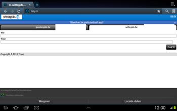 Samsung P5100 Galaxy Tab 2 10-1 - Internet - Hoe te internetten - Stap 11