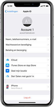 Apple iphone-xs-model-A1920 - Instellingen aanpassen - Back-up maken in je account - Stap 9