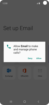 Samsung Galaxy S10e - E-mail - Manual configuration (outlook) - Step 12