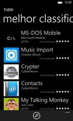 Nokia Lumia 625 - Aplicações - Como pesquisar e instalar aplicações -  10