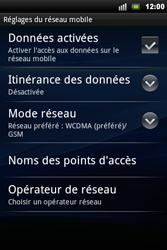 Sony Ericsson Xperia Mini Pro - MMS - configuration manuelle - Étape 7