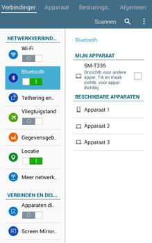 Samsung Galaxy Tab4 8.0 4G (SM-T335) - Bluetooth - Headset, carkit verbinding - Stap 6