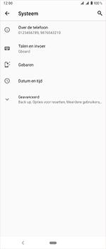 Sony Xperia 1 - Toestel reset - terugzetten naar fabrieksinstellingen - Stap 5