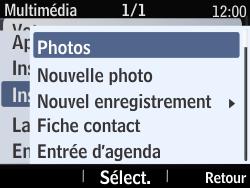 Nokia Asha 210 - Mms - Envoi d
