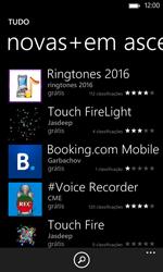 Nokia Lumia 625 - Aplicações - Como pesquisar e instalar aplicações -  8