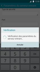 Samsung G800F Galaxy S5 Mini - E-mail - Configuration manuelle - Étape 11