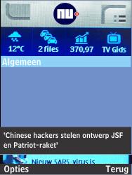 Nokia 301-1 - Internet - Hoe te internetten - Stap 19