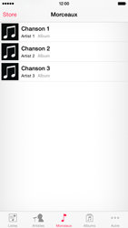 Apple iPhone 6 iOS 8 - Photos, vidéos, musique - Ecouter de la musique - Étape 4