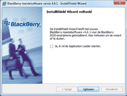 BlackBerry 8520 Curve - Software - Update installeren via PC - Stap 12
