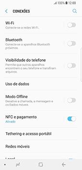 Samsung Galaxy S9 - Wi-Fi - Como ligar a uma rede Wi-Fi -  5