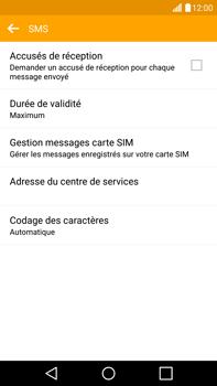 LG H815 G4 - SMS - configuration manuelle - Étape 9