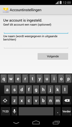 Motorola Moto G - E-mail - Account instellen (POP3 zonder SMTP-verificatie) - Stap 17