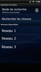 Sony Ericsson Xperia Arc S - Réseau - Utilisation à l