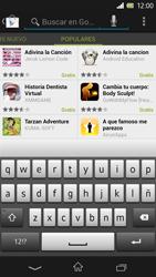 Sony Xperia Z - Aplicaciones - Descargar aplicaciones - Paso 13