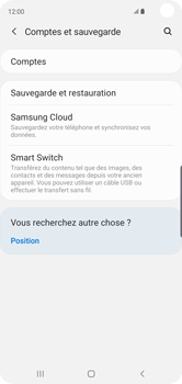 Samsung Galaxy S10 - Données - créer une sauvegarde avec votre compte - Étape 5