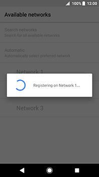 Sony Xperia XA2 Ultra - Network - Manually select a network - Step 10